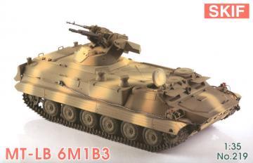 MT-LB 6M1B3 Soviet Armored troop-carrier · SF 219 ·  Skif · 1:35