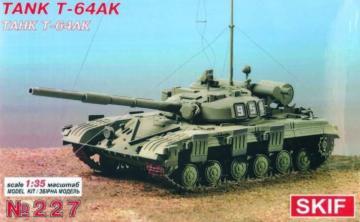 Russischer Panzer T-64 AK · SF 227 ·  Skif · 1:35