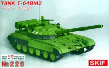 T-64BM2 · SF 228 ·  Skif · 1:35