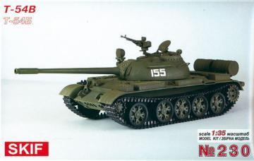 T-54 B · SF 230 ·  Skif · 1:35