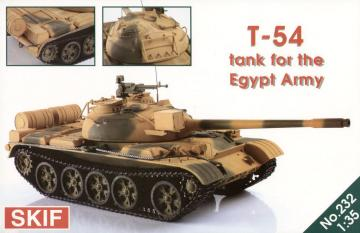 T-54 Tank for the Egypt Army · SF 232 ·  Skif · 1:35