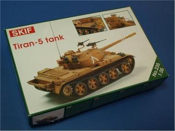 Tiran-5 tank · SF 235 ·  Skif · 1:35