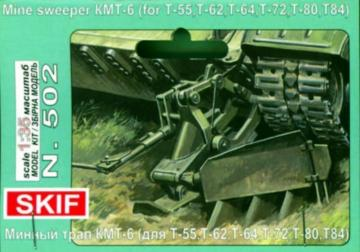 Mine Sweeper KMT-6 · SF 502 ·  Skif · 1:35