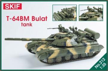 T-64BM Bulat Ukrainian main battle tank · SF MK212 ·  Skif · 1:35