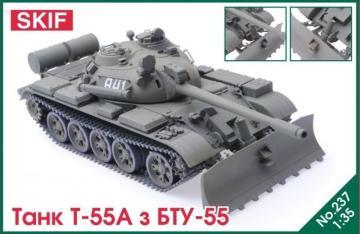 T-55 Tank with BTU-55 · SF MK237 ·  Skif · 1:35