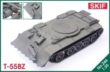 T-55BZ · SF MK246 ·  Skif · 1:35