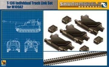 T-136 Track Link for M109A2 · SMW 35001 ·  Skunk Models Workshop · 1:35