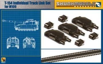 T-154 Track Link for M109A6 · SMW 35002 ·  Skunk Models Workshop · 1:35
