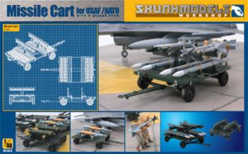 Missile Cart for USAF/NATO · SMW 48004 ·  Skunk Models Workshop · 1:48