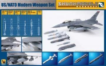 US/NATO Modern Weapon Set · SMW 48006 ·  Skunk Models Workshop · 1:48