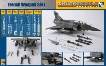 French Weapon Set I · SMW 48008 ·  Skunk Models Workshop · 1:48