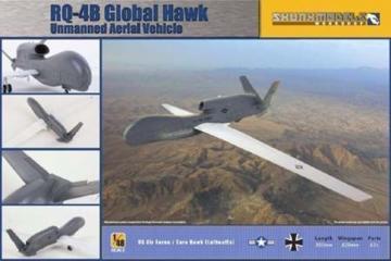 RQ-4B Global Hawk · SMW 48009 ·  Skunk Models Workshop · 1:48