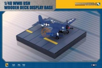 WWII IJN Wooden Deck Display Base · SMW 48015 ·  Skunk Models Workshop · 1:48