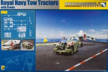 Royal Navy Tow Tractors with Crews · SMW 48017 ·  Skunk Models Workshop · 1:48