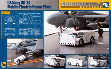 US Navy NC-2A Mobile Electric Power Plant · SMW 48021 ·  Skunk Models Workshop · 1:48