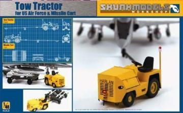 Tow Tractor for US Air Force & Missile Cart · SMW 48028 ·  Skunk Models Workshop · 1:48