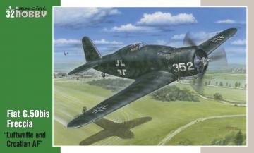 Fiat G.50bis Luftwaffe+Croatian AF · SH 32058 ·  Special Hobby · 1:32