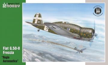 Fiat G.50-II Regia Aeronautica · SH 32061 ·  Special Hobby · 1:32