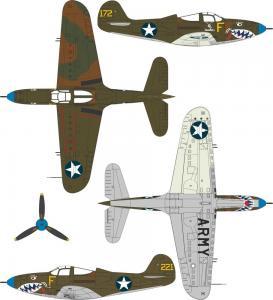 P-400 Airacobra · SH 32062 ·  Special Hobby · 1:32