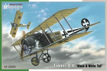 Fokker D.II · SH 32065 ·  Special Hobby · 1:32