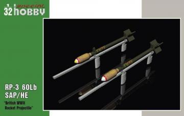 British WWII Rockets · SH 32075 ·  Special Hobby · 1:32