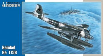 Heinkel He 115 · SH 48110 ·  Special Hobby · 1:48