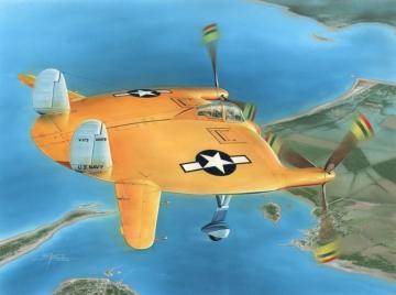 V-173 Flying Pancake · SH 48121 ·  Special Hobby · 1:48