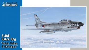 F-86K NATO All Weather Fighter · SH 48123 ·  Special Hobby · 1:48