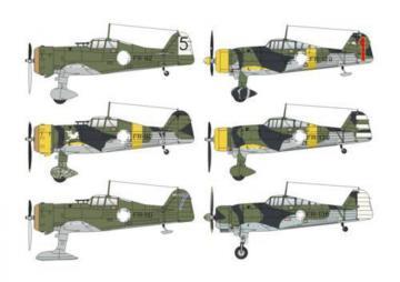 Fokker D.XXI Duo Pack 3.sarja&4.sarja · SH 48124 ·  Special Hobby · 1:48