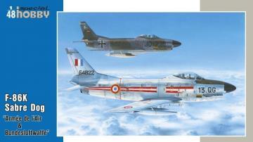 F-86K Armés de l`Air & Bundesluftwaffe · SH 48126 ·  Special Hobby · 1:48