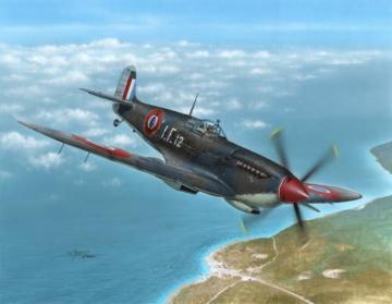 Supermarine Seafire Mk.III Aeronavale · SH 48138 ·  Special Hobby · 1:48