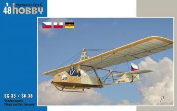SG-38/SK-38 Czechoslovakia,Poland a.East Germany · SH 48139 ·  Special Hobby · 1:48