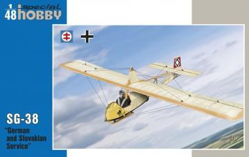 SG-38 German and Slovak Service · SH 48141 ·  Special Hobby · 1:48