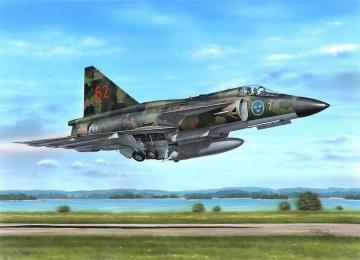 SAAB AJ-37 Viggen Attack Version · SH 48148 ·  Special Hobby · 1:48