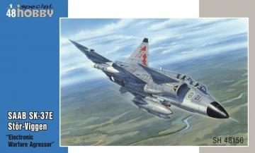 SAAB SK-37E Stör-Viggen - Electronic Warfare Agressor · SH 48150 ·  Special Hobby · 1:48