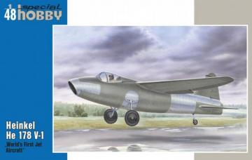 Heinkel He 178V-1 · SH 48175 ·  Special Hobby · 1:48