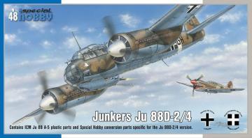Junkers Ju 88D-2/4 · SH 48178 ·  Special Hobby · 1:48