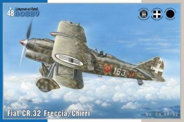 Fiat CR.32 Chirri · SH 48182 ·  Special Hobby · 1:48