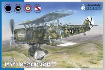 IMAM (Romeo) Ro.37bis · SH 48185 ·  Special Hobby · 1:48