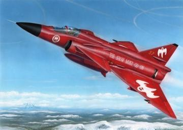 Aj-37 Viggen Show must go on · SH 48188 ·  Special Hobby · 1:48