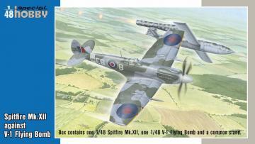 Spitfire Mk.XII against V-1 Flying Bomb · SH 48192 ·  Special Hobby · 1:48