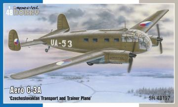 Aero C-3A Czechoslovakian Transport and Trainer Plane · SH 48197 ·  Special Hobby · 1:48