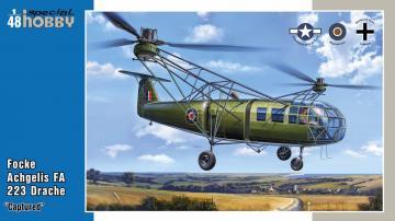 Focke Achgelis FA 223 Drache Captured · SH 48201 ·  Special Hobby · 1:48