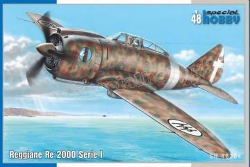 Reggiane Re 2000 I. Serie · SH 48204 ·  Special Hobby · 1:48