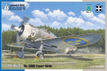 J-20/Heja I - Re 2000 Export Birds · SH 48208 ·  Special Hobby · 1:48