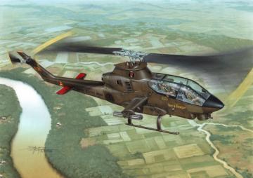 AH-1G CobraOver Vietnam with M-35 GunSy · SH 72076 ·  Special Hobby · 1:72