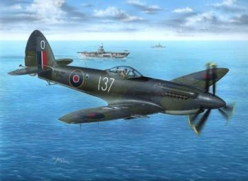 Supermarine Seafire Mk.47 · SH 72099 ·  Special Hobby · 1:72