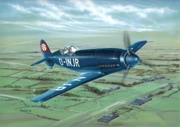 Messerschmitt Me 209 V-1 · SH 72138 ·  Special Hobby · 1:72