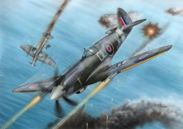 Spitfire F Mk.21 No.91 Sq.RAF in WWII · SH 72227 ·  Special Hobby · 1:72
