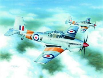 Boulton & Paul Balliol T.2 · SH 72234 ·  Special Hobby · 1:72